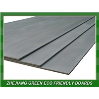 Reinforced fiber cement siding board for wall paneling