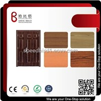 SPCC/SGCC PVC/PET Film Lamination Steel Coils/Sheets for Door, Wall Panel