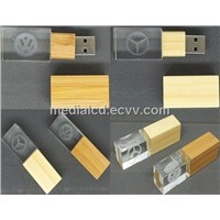Show the Different of Your Company through Laser Your Logo Inside the Crystal USB Flash Drive