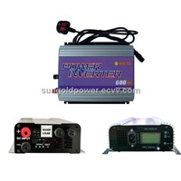 Sun Gold Power 600w wind grid tie inverter for  wind turbine DC10.8-30V