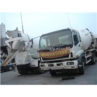 Used  Cement Truck  ISUZU 8CBM  In Good Condition