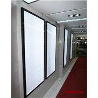 aluminum frame led slim light box display