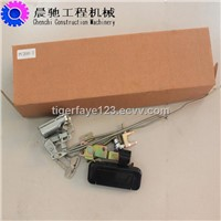 cab door lock for excavator