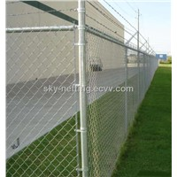 Chain Link Fence Metal Wire Mesh Hot-Dipped Gal. Wire