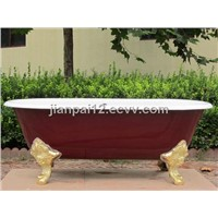 china enamel cast iron freestanding bathtubs/freestanding tubs