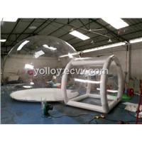 Clear Inflatable Lawn Bubble Tent for Outdoor