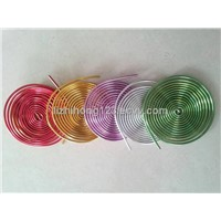 craft bicycle making colored aluminum wire /ring making aluminum wire