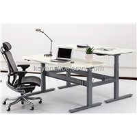 ergonomic adjustable sitting and standing office workcenters