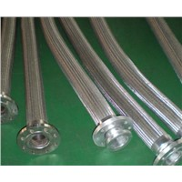 flanged joint stainless steel flexible hose