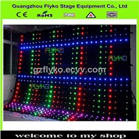 flexible led curtain screen and led curtains