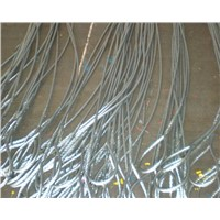 galvanized steel spliced press wire rope sling