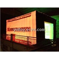 Inflatable Concert Hall Blow up Cubic / Cube Party Tent