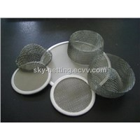 Iron Filter Disc Mesh / Wire Mesh Fruit Juice Filter Cloth