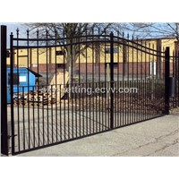 Iron Wrought Decorative Gate / Controlled Access System Gates