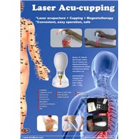 laser acupuncture for body massage and relaxion