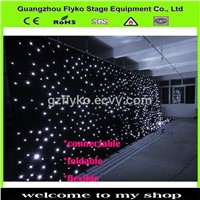 led star curtain wedding decoration