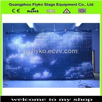 music studio equipment led background color video wall