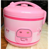 pink color  rice cooker
