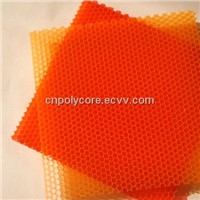 Red PC Honeycomb for Decoration