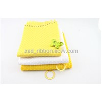 ribbon woven fabric manufacturer 100% polyester fabric