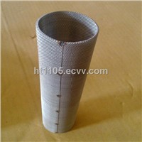 spot weld stailess steel filter cylinder
