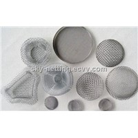 Stainless Steel Water Filter Mesh Netting / Woven Cloth Filter Screen