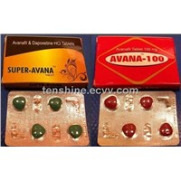 Super Avana Avanafil Dapoxetine HCI Tablet