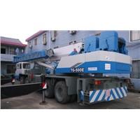 Used Tadano TG500E Truck Crane / Tadano 50ton Truck Crane