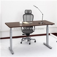 without crossbar electric height adjustable desks