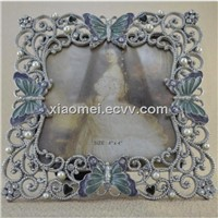 high quality digital photo picture frame butterfuly photo picture frame