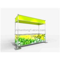 outdoor display stand banner