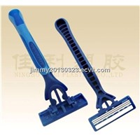 three stainless steel blade razor  for men