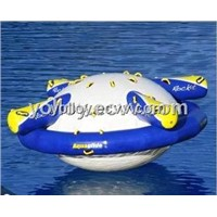 Floating Water Game Toy   Inflatable Saturn Rocker
