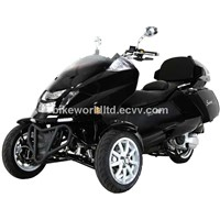 Roadrunner 300cc Trike Scooter -Trunk & Windshield & Built in Saddlebag