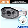 50m IR Night Vision Waterproof Outdoor  Box Camera Security Camera  Sony CCD Array Led Camera