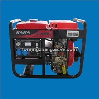 3KW Portable Diesel Generator with Open-frame Type