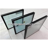 5mm low-E+12AS+5mm clear float glass for insulated glass