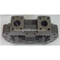 CAT320 main hydraulic pump A8VO200LA control housing (back cover)
