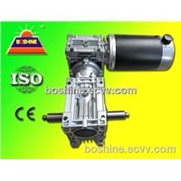 DC Worm Gear Motor Speed Reducer Box