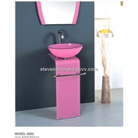 Hot sell modern tempered glass wash basin BL-6802