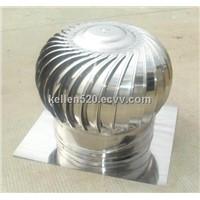 Industrial roof turbine air ventilator
