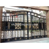Luxury Villa Wrought Iro House Gate