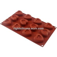 Silicone Bakeware,with Carton Shape, Easy to Handle, Different Colors and Shapes Available