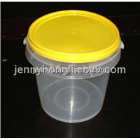 Trasparent  Bucket with Lid , Clear Bucket with tamper Evident design ,PP Containers