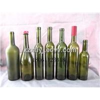 Wine bottles , red wine bottles, ice wine bottles