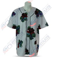 100% Polyester Custom Sublimated Baseball Wear