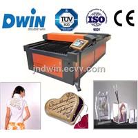 DW1218  100W Laser Cutter to Cut T-Shirt