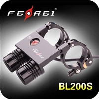 10W CREE LED Aluminum rechargeable front bike light BL200S