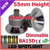 12V AC/DC 55mm SHARP COB BA15D Dimmable LED AR70