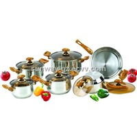 12pcs cookware set  Happy cookware set